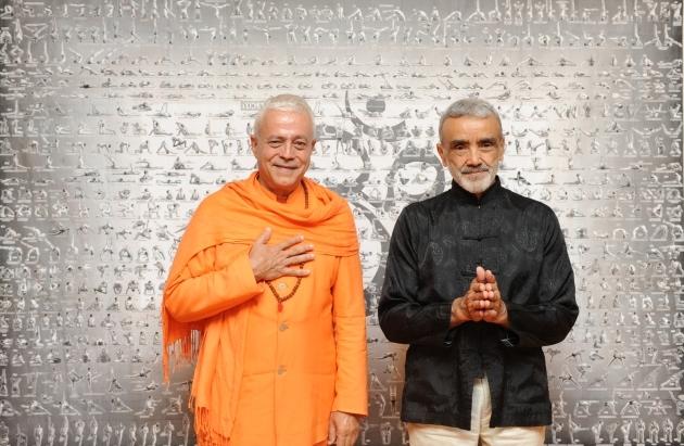 Encontro com Shrí Dharma Mittra - Dharma Mittra Áshrama, New York - 2012, Setembro