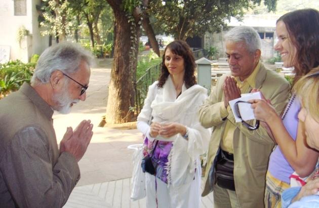 Encontro com Dr. Ramesh Bijlani - Shrí Aurobindo Áshrama, New Dillí, Índia - 2010, Janeiro