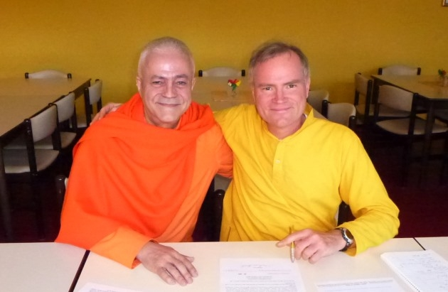 Encontro com o Mestre Sukadev Bretz - Yoga Vidya, Bad Meinberg, Alemanha - 2012, Março