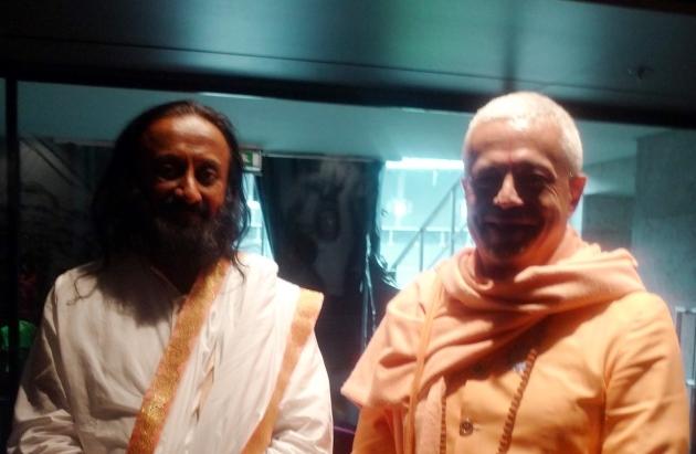 Encontro com Shrí Shrí Ravi Shankar - 30º Aniversário da Art of Living, Berlim - 2011, Julho