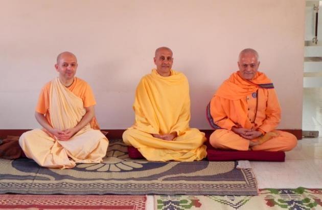 Encontro com Svámin Radhanath e Svámin Yadunandana  - ISKCON Hare Krshna