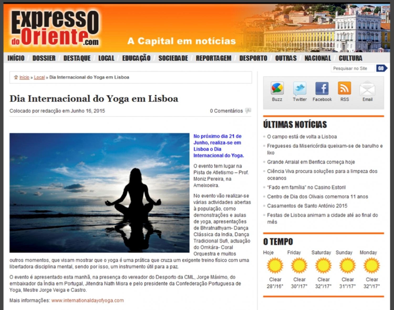 Expresso do Oriente - 2015, June, 16th