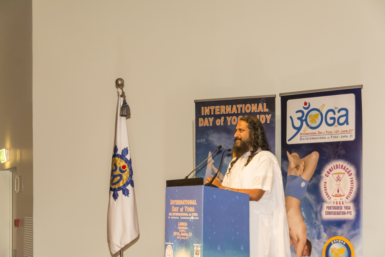 Darshana Day - 2015, june, 20th - Lisboa, Fundação Champalimaud