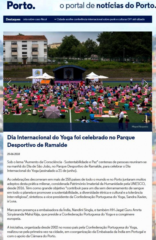 Notícias do Porto, 2018.06.25