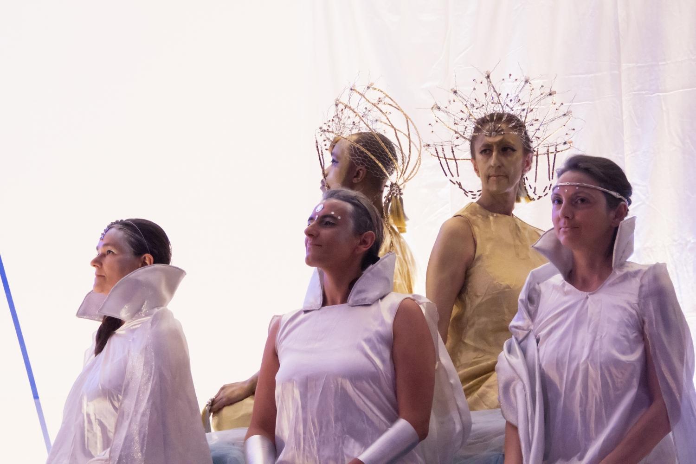 'Un Conte du Purusha' (Petits-fils d'Abel, fils de Caïn ?) par Máyá - Théâtre Amateur de la Confédération Portugaise du Yoga