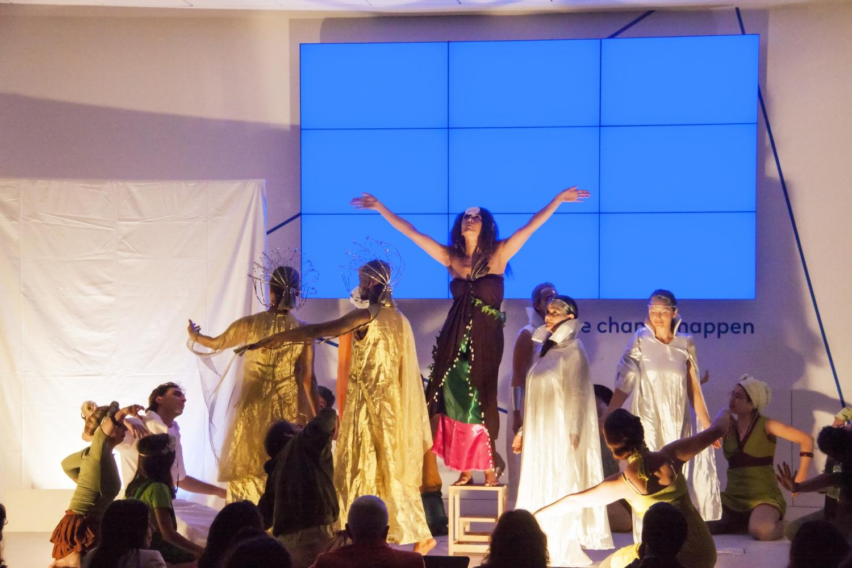 'Um Conto do Purusha' (Netos de Abel, filho de Caim ?) pelo Máyá - Teatro Amador da Confederação Portuguesa do Yoga