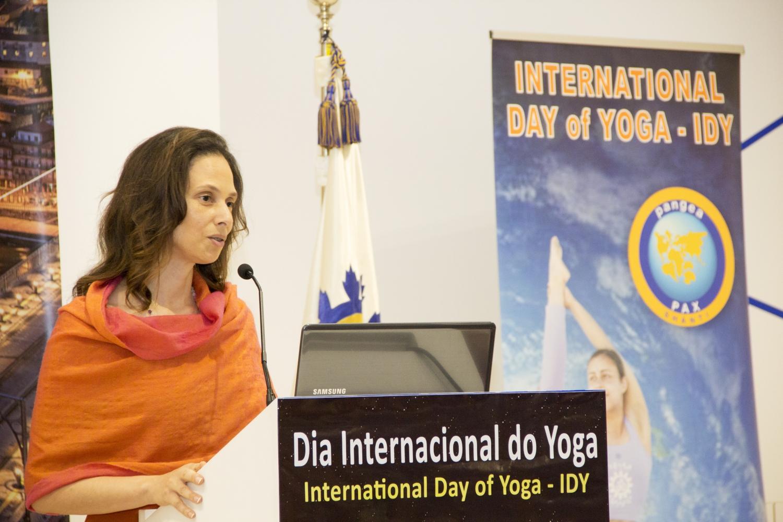 H.H. Sváminí Chandra Shakti Deví Mahá Rája - Vice-Presidente da Confederação Portuguesa do Yoga