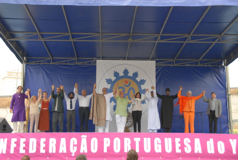 Comemoração do International Day of Yoga - IDY / Dia Internacional do Yoga - 2017 - Lisboa, Portugal