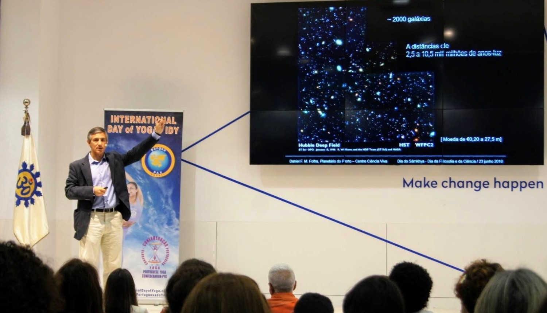 Professeur Docteur Daniel Folha - Directeur Exécutif du Planetarium de Porto - Centro de Ciência Viva, 'Astrobiologie : le Contexto cosmico de la Vie'