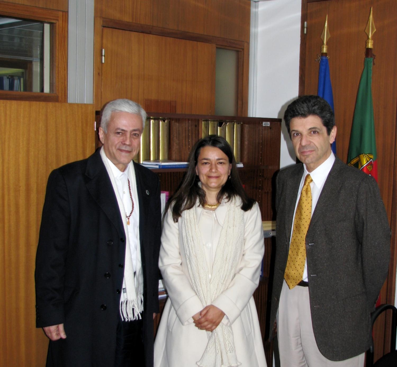 Com S.E: Dr. Manuel Maria Carrilho, Embaixador de Portugal na UNESCO entre 2009 e 2010
