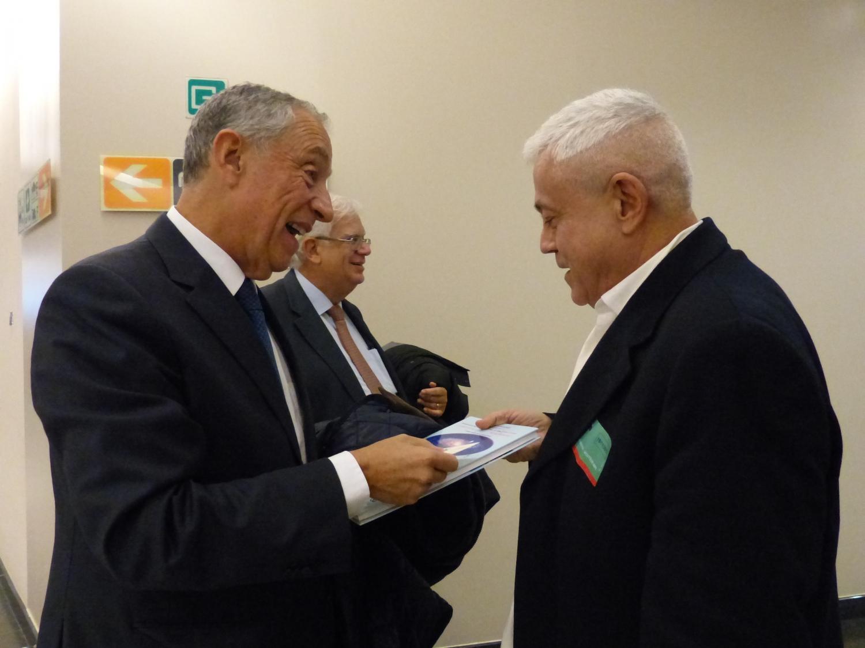 Avec le Prof. Marcelo Rebelo de Sousa