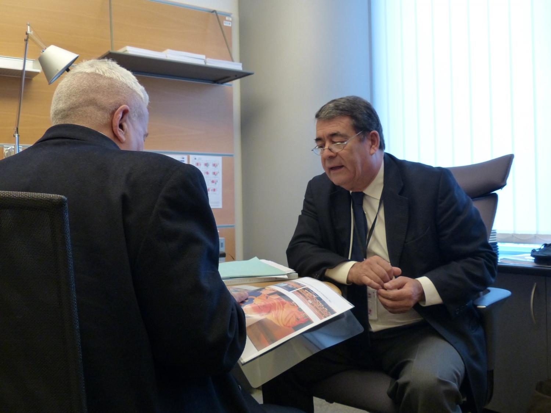 Com o Eurodeputado Dr. Marinho Pinto