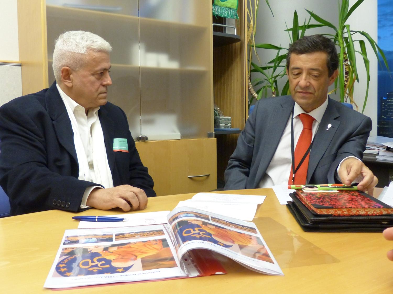 Com o Eurodeputado Dr. Carlos Zurrinho