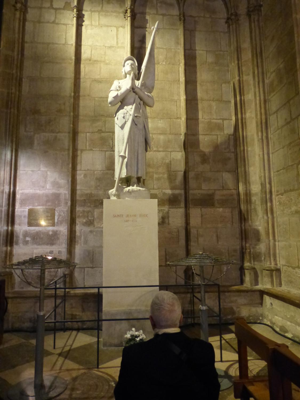 Sainte Jeanne d'Arc - Cathédrale Notre Dame de Paris