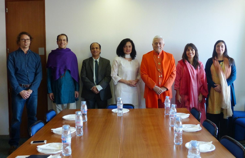 Reunião com S.E. a Embaixadora da Índia na UNESCO, Ms. Ruchira Kamboj – Paris – 2016, Dezembro, 9