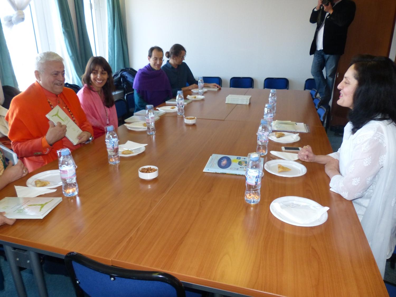 Réunion avec S.E. l'Ambassadeure de l'Inde à l'UNESCO, Ms. Ruchira Kamboj - Paris - 2016, décembre, 9