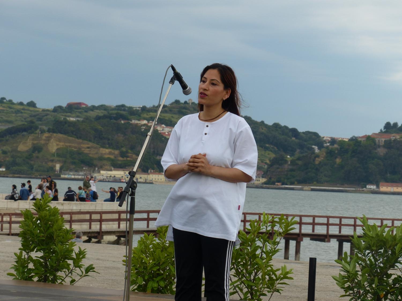 S.E. a Embaixadora da Índia em Portugal, Shrímati K. Nandini Singla