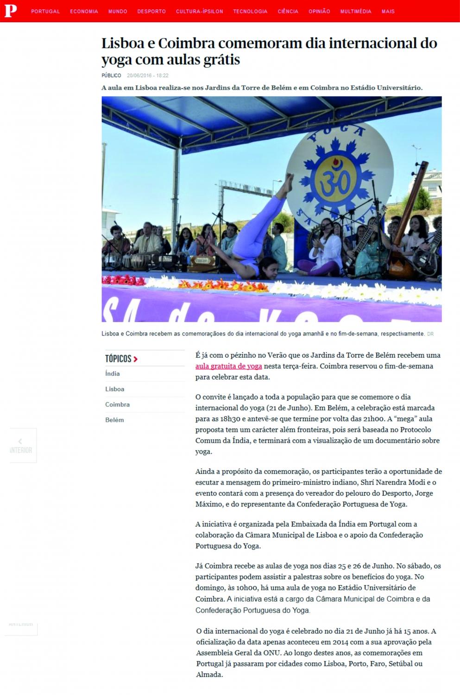 Público - 2016, June, 20th