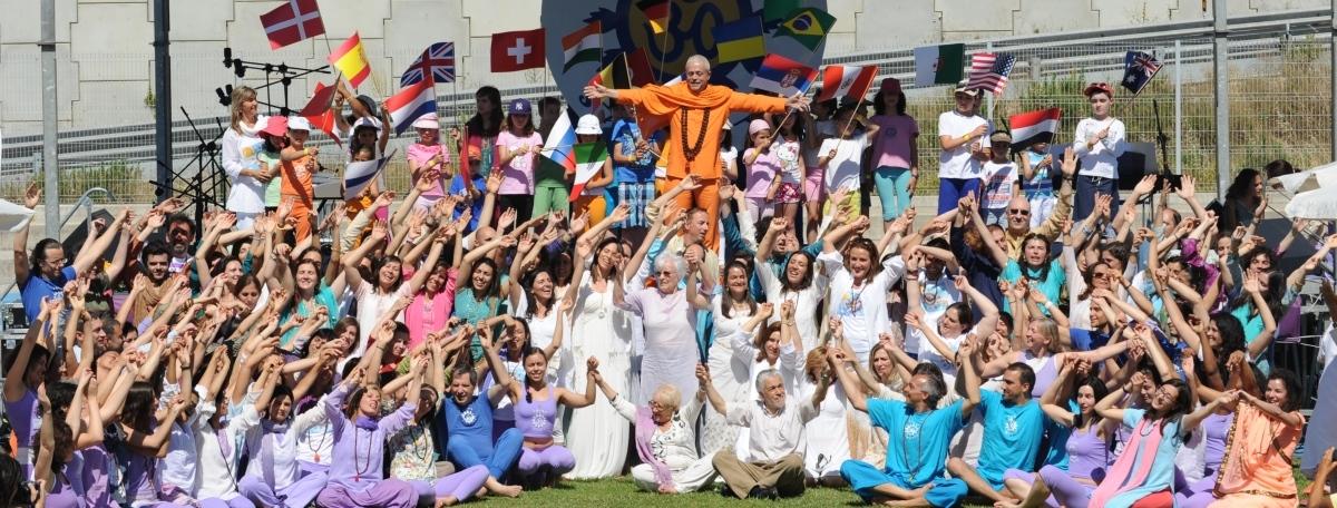 4. Journée Internationale du Yoga - 2013 - Scène