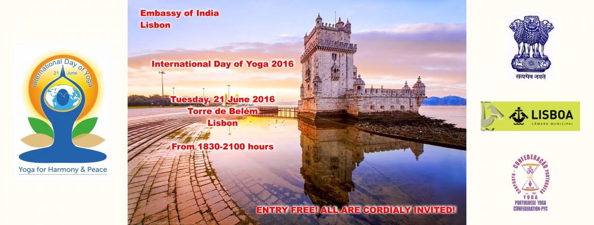 International Day of Yoga - 2016, June, 21st
