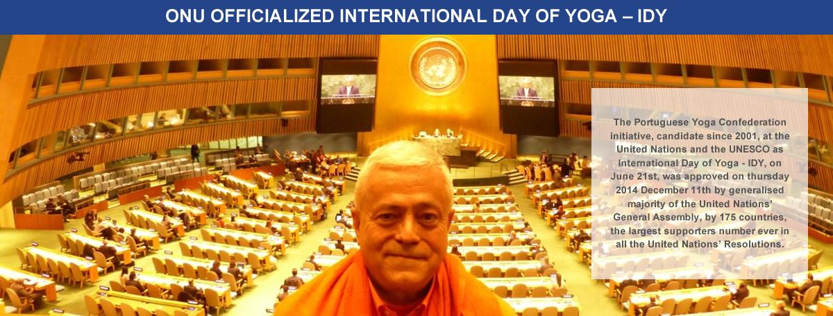1. U.N. officialized International Day of Yoga